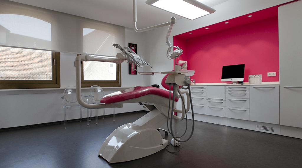 salle rose du cabinet Harter - Freyss - Orthodontiste 67 près de Strasbourg